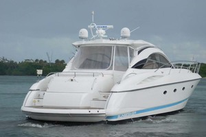 50' Sunseeker Camargue Hard Top with Sunroof 2002 Starboard Aft Quarter