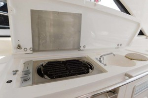 50' Sunseeker Camargue Hard Top with Sunroof 2002 Wet Bar and Grill