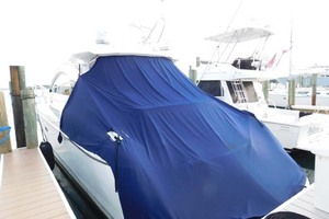 50' Sunseeker Camargue Hard Top with Sunroof 2002 Aft Sun Covered