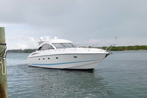 50' Sunseeker Camargue Hard Top with Sunroof 2002 Starboard Bow