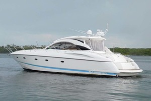 50' Sunseeker Camargue Hard Top with Sunroof 2002 Port Profile