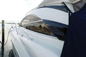 50' Sunseeker Camargue Hard Top with Sunroof 2002 Port Side Paint