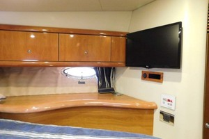 50' Sunseeker Camargue Hard Top with Sunroof 2002 Master Stateroom Starboard
