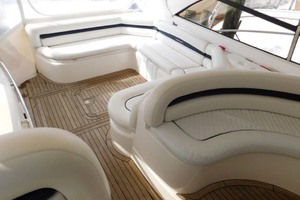 50' Sunseeker Camargue Hard Top with Sunroof 2002 Cockpit Seating