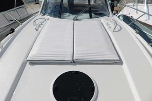 50' Sunseeker Camargue Hard Top with Sunroof 2002 Sun Pads Forward