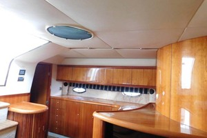 50' Sunseeker Camargue Hard Top with Sunroof 2002 Galley