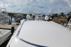 50' Sunseeker Camargue Hard Top with Sunroof 2002 Sunroof Closed