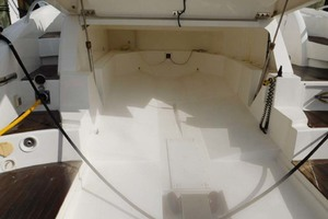 50' Sunseeker Camargue Hard Top with Sunroof 2002 Garage for Tender of PWC