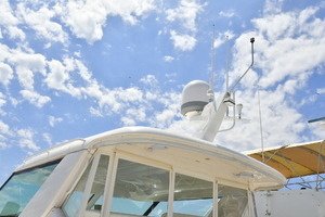44' Tiara Sovran 2005 Hardtop and Custom Radar Mast