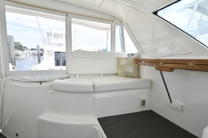 44' Tiara Sovran 2005 Helm Deck Seating