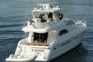 60' Neptunus Flybridge Motoryacht 1999 stern Shot