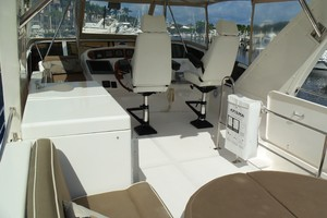 60' Neptunus Flybridge Motoryacht 1999 Flybridge Looking Forward