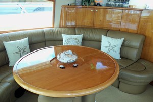 60' Neptunus Flybridge Motoryacht 1999 Salon Portside Forward