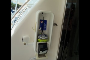 60' Neptunus Flybridge Motoryacht 1999 Aft Deck