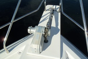 60' Neptunus Flybridge Motoryacht 1999 Windlass Detail