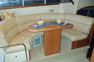 55' Neptunus Sedan Cruiser - 3 SR, TNT Lift 1999 Galley Area Dining