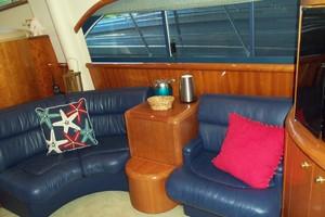 55' Neptunus Sedan Cruiser - 3 SR, TNT Lift 1999 Salon Starboard Side