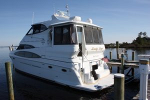 50' Carver 506 Motor Yacht 2001 Port Side