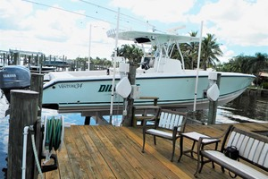 photo of Venture-34-Center-Console-2006-DILLIGAF-Palm-City-Florida-United-States-On-Lift-1068578