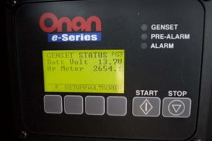 45' Meridian 459 Motoryacht 2006 Generator Hours