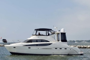 45' Meridian 459 Motoryacht 2006 Port Side