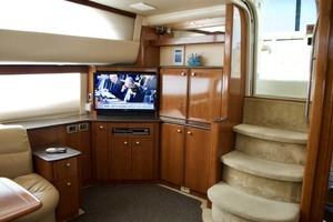 45' Meridian 459 Motoryacht 2006 Salon Entertainment