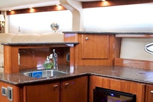 45' Meridian 459 Motoryacht 2006 Galley