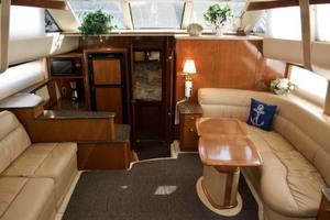 45' Meridian 459 Motoryacht 2006 Salon Fwd