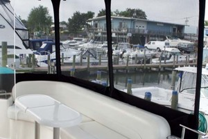photo of Meridian-459-Motoryacht-2006-Totally-Outta-Control-Long-Island-New-York-United-States-Aft-Deck-Seating-1068656
