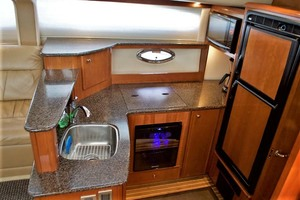 45' Meridian 459 Motoryacht 2006 Galley Down