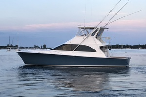 48' Ocean Super Sport 1998 Port Side