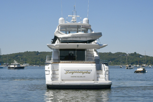 84' Princess 84 Flybridge  2006 Transom
