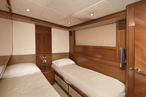 84' Princess 84 Flybridge  2006 Guest Stateroom - Port Side