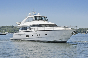 84' Princess 84 Flybridge  2006 Starboard Bow