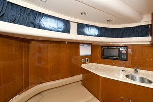 84' Princess 84 Flybridge  2006 Crew Galley