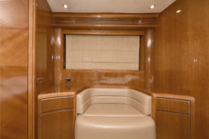 84' Princess 84 Flybridge  2006 Master Settee