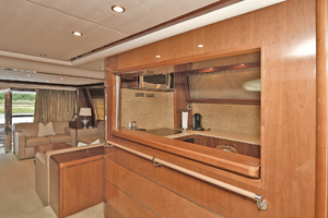 84' Princess 84 Flybridge  2006 Galley