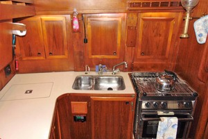 40' Nauticat 40 1985 Galley