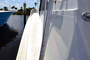 60' Hatteras 60 Flybridge 1979 Port Gunnel