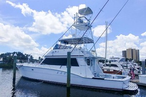 60' Hatteras 60 Flybridge 1979 Profile
