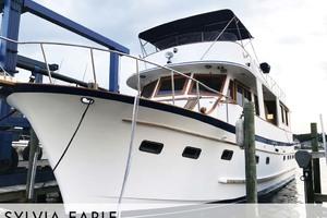 50' Marine Trader 50 Widebody Trawler 1988 Profile