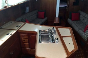 40' Sabre 402 2001 Galley