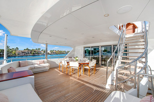 147' Sunrise Motor Yacht 2014 Bridge Deck