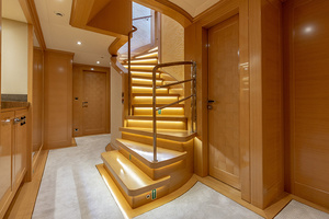 147' Sunrise Motor Yacht 2014 Lower Deck Foyer
