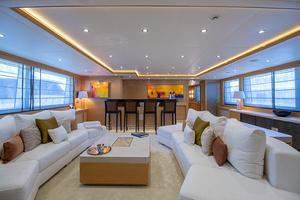 147' Sunrise Motor Yacht 2014 Skylounge