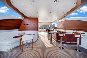 147' Sunrise Motor Yacht 2014 Upper Deck