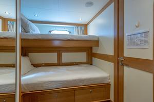 147' Sunrise Motor Yacht 2014 Crew Cabin