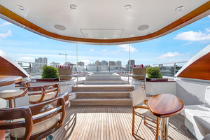 147' Sunrise Motor Yacht 2014 Upper Deck Bar