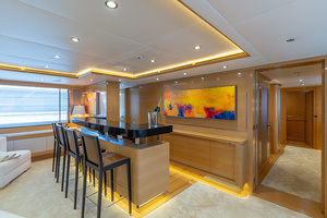 147' Sunrise Motor Yacht 2014 Skylounge Bar