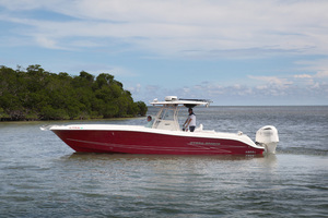 34' Hydra-Sports 3400 CC 2012 Port View